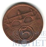 5 геллеров, 1929 г., Чехословакия