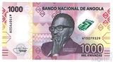 1000 кванза, 2020 г., Ангола