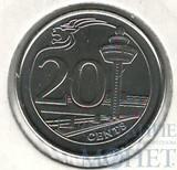 20 центов, 2013 г., Сингапур