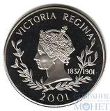 """50 пенсов """"Королева Виктория"""", 2001 г., Фолклендские острова"""