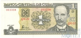 1 песо, 2003 г., Куба