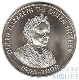 """50 пенсов """"Королева-мать Елизавета"""", 2000 г."""