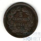 5 сентим, 1854 г., Люксембург