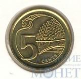 5 центов, 2013 г., Сингапур