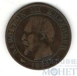 5 сентим, 1854 г., А, Франция