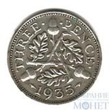 3 пенса, серебро, 1935 г., Великобритания