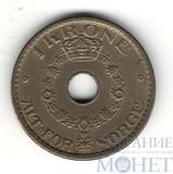 1 крона, 1940 г., Норвегия