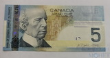 5 долларов, 2006 г., Канада