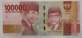 100000 рупий, 2016 г., Индонезия