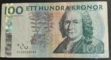 100 крон, 1986 г., Швеция