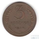 3 копейки, 1924 г.