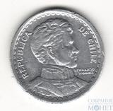 1 песо, 1958 г., Чили