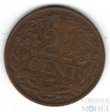 2 1/2 цента, 1919 г., Нидерланды