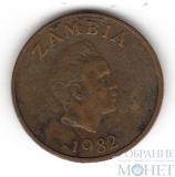1 нгве, 1982 г., Замбия
