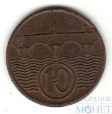 10 геллеров, 1938 г., Чехословакия
