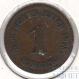 1 пфеннинг, 1875 г., Германия