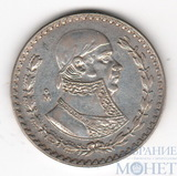 1 песо, серебро, 1961 г., Ag 100, Мексика
