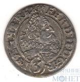 3 крейцера, 1628 г., Австрия, Фердинанд II