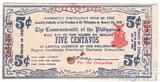 5 песо, 1942 г., Филиппины