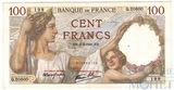 100 франков, 1941 г., Франция
