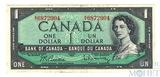 1 доллар, 1954 г., Канада