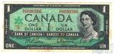 1 доллар, 1967 г., Канада
