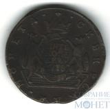 Сибирская монета, 5 копеек, 1778 г., КМ