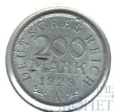 200 марок, 1923 г., А, Веймарская республика(Германия)