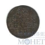 1/48 талера, серебро, 1811 г., Саксония(Германия)