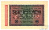 20000 рейхсмарок, 1923 г., Германия