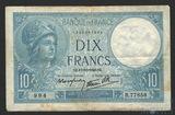 10 франков, 1932 г., Франция