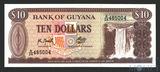 10 долларов, 1992 г., Гвиана
