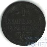 1 копейка, 1843 г., СПМ