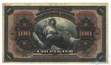 Государственный кредитный билет 100 рублей 1918 г., Временное правительство, с подписями