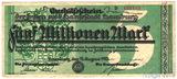 5000000(5 милн.) марок, 1923 г., Германия(Гамбург-Нотгельд)