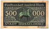 500000 марок, 1923 г., Гемания(Дюссельдорф-Нотгельд)