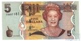 5 долларов, 2011 г., Фиджи