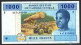 1000 франков, 2002 г., Гвинея Экваториальная