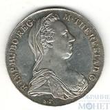 Талер, серебро, 1780 г., Австрия