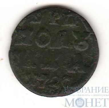 """Полушка, 1720 г.,""""Год цифрами"""""""